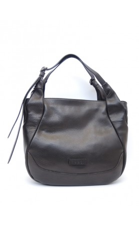 borsa a spalla pelle made in italy vintage Bruno Rossi